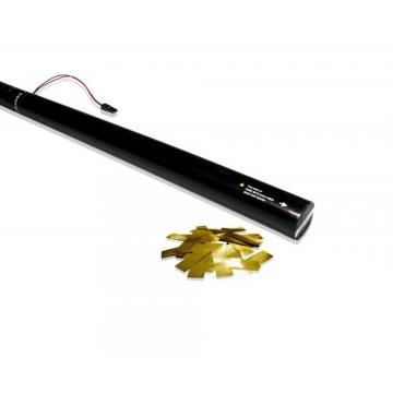 TUBO SPARACORIANDOLI ELETTRICO 80 cm - CORIANDOLI ORO METALLIZATO